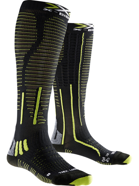 X-Bionic Effektor Trekking Socks Men Long Black/Grey/Lime